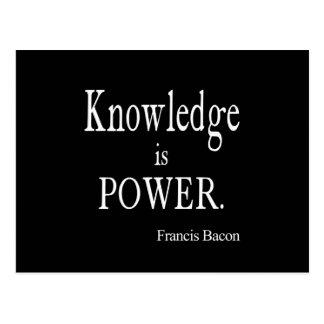 La connaissance vintage de Francis Bacon est Carte Postale