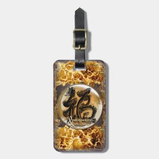 LA CONNEXION DE PROSPÉRITÉ : Art de Fengshui Étiquette À Bagage