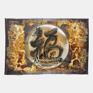 LA CONNEXION DE PROSPÉRITÉ : Art de Fengshui Linge De Cuisine