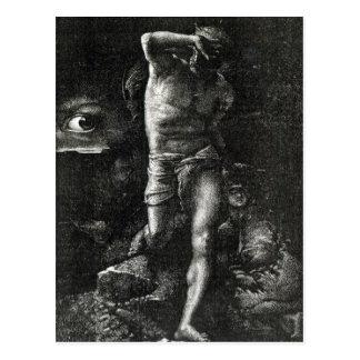 La conscience ou, l'oeil observant Caïn Carte Postale