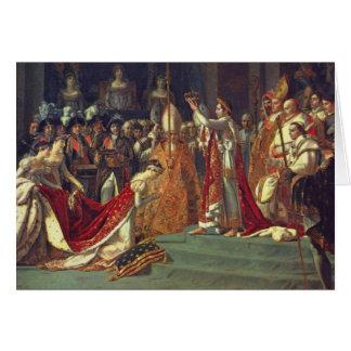 La consécration du napoléon 1 d'empereur cartes