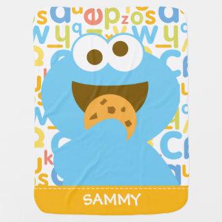 La consommation | de monstre de biscuit de bébé couvertures pour bébé