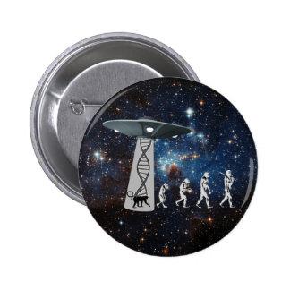 La conspiration d'évolution badges