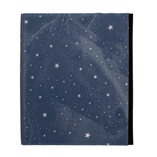 La constellation de scintillement de cheval tient  coque folio iPad