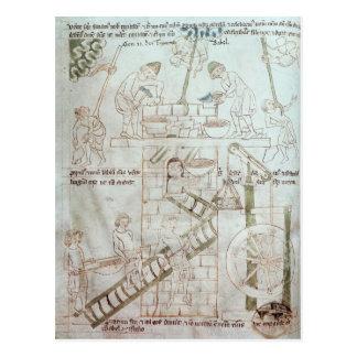 La construction de la tour de Babel Carte Postale