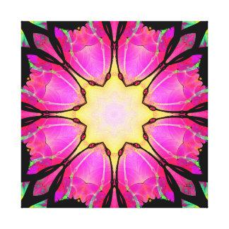 La copie de toile enveloppée par étoile toiles
