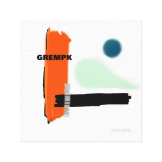 La copie Gary de toile d'art de concept de GREMPK
