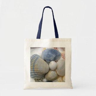 La coque bleue écosse le sac de plage