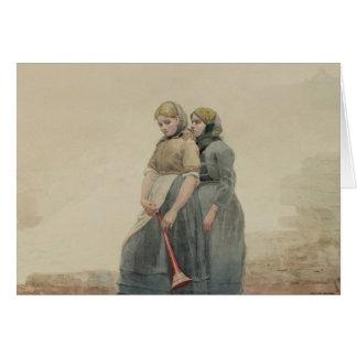La corne de brume, 1883 (la semaine) carte de vœux