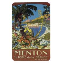 La Côte d'Azur vintage, France - Magnet