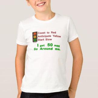 La côte de Hypermiler anticipent le début T-shirt