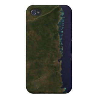 La côte de la Mozambique Coques iPhone 4