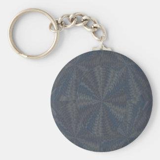La couleur de bijou de motif de 100 conceptions porte-clé rond