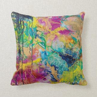 La couleur du carreau d'art de MaryLea Harris de Coussin