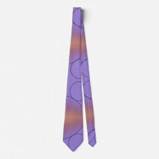 La couleur géométrique se fanent cravate de motif