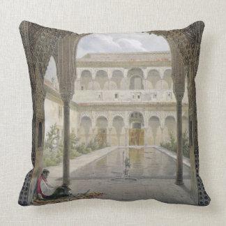 La cour d'Alberca à Alhambra, Grenade, Oreiller