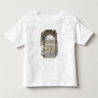 La cour d'Alberca à Alhambra, Grenade, T-shirt Pour Les Tous Petits