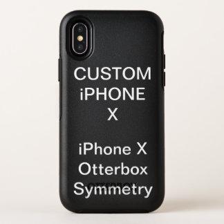 La coutume a personnalisé la caisse de l'iPhone X