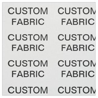 La coutume a personnalisé le tissu de coton de
