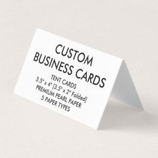 La coutume a personnalisé les cartes de visite