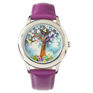 La coutume badine la montre de l'image Purple1