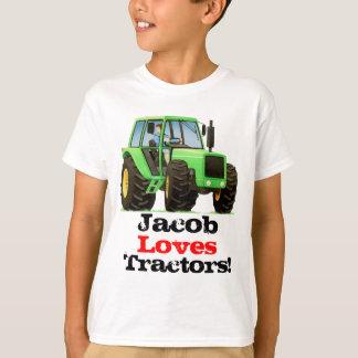 La coutume badine les tracteurs nommés et t-shirt