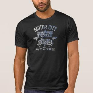 La COUTUME de VILLE du MOTEUR des hommes FAIT UN T-shirt