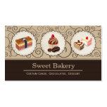 La coutume douce de magasin de boulangerie durcit  carte de visite