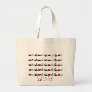 La couture fournit tous dans une rangée sacs fourre-tout