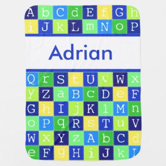 La couverture personnalisée d'Adrian Couverture De Bébé