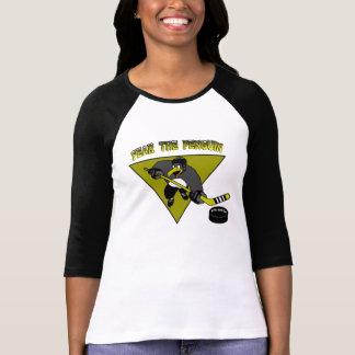 La crainte des femmes le T-shirt de pingouin