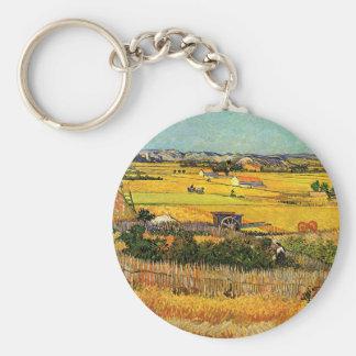 La Crau Montmajour de récolte de Van Gogh à l arr Porte-clé