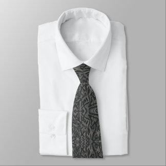 """La cravate abstraite des hommes """"a ébréché"""