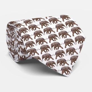 La cravate Dbl de frénésie d'éléphant de bébé a