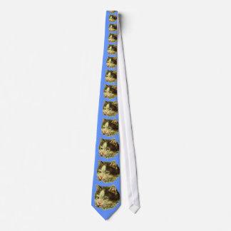 La cravate de l'amoureux des chats