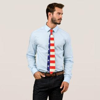 La cravate des hommes de drapeau du Texas