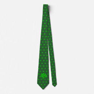 La cravate du paddy de St du jour de quatre de
