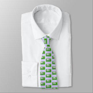 La cravate en soie des hommes, diable tasmanien,