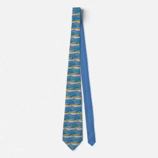La cravate sicilienne d'amusement de pêcheur