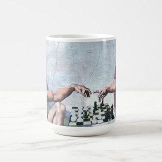 La création des échecs mug