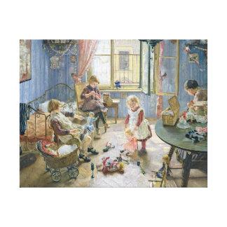 La crèche, 1889 toiles