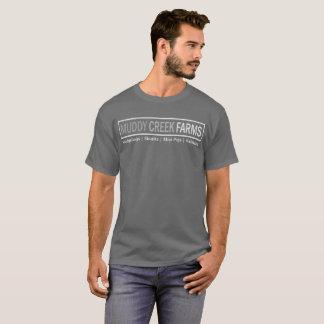 La crique boueuse cultive le T-shirt de logo