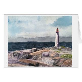 La crique de Peggy, carte de la Nouvelle-Écosse