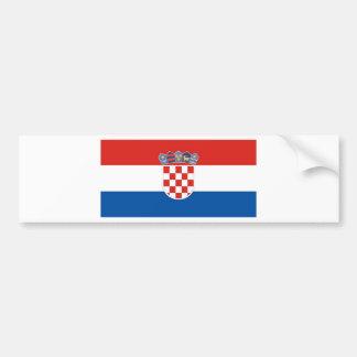 la Croatie Autocollant De Voiture
