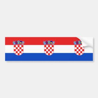 La Croatie, Croatie Autocollant De Voiture