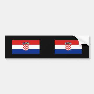 La Croatie, Croatie Autocollant Pour Voiture