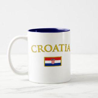 La Croatie d or Tasse