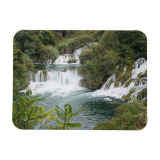 La Croatie, Dalmatie, Krka tombe parc national Magnets