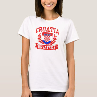 La Croatie Hrvatska T-shirt