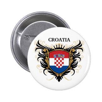 La Croatie [personnalisez] Badges